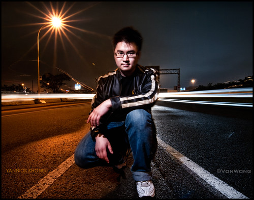 how to get potrait with long exposure