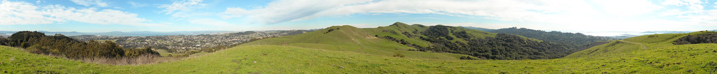 Wildcat Canyon Hike Panorama | by jdnx