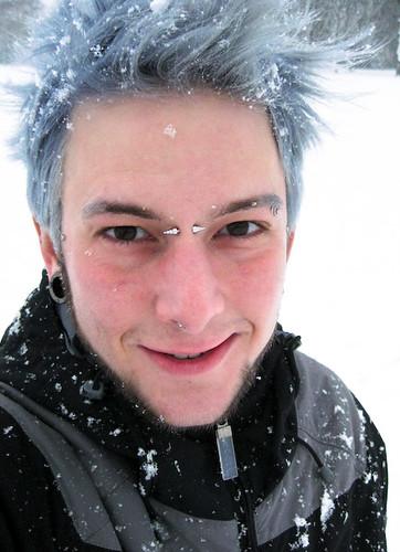 Aaron Jacob Jones Silver Aj In The Snow Aaron Jacob