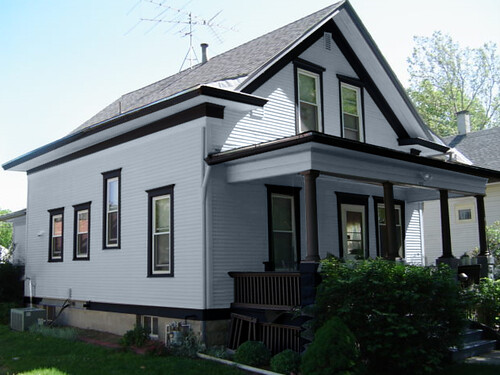 Dark Exterior Paint Color Schemes
