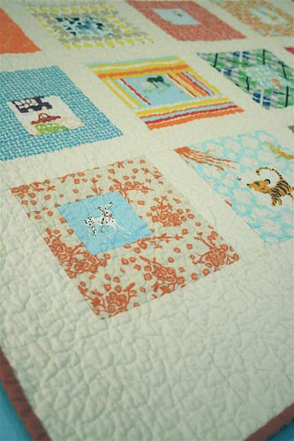 Sparks Baby Quilt - Detail | by alissahcarlton