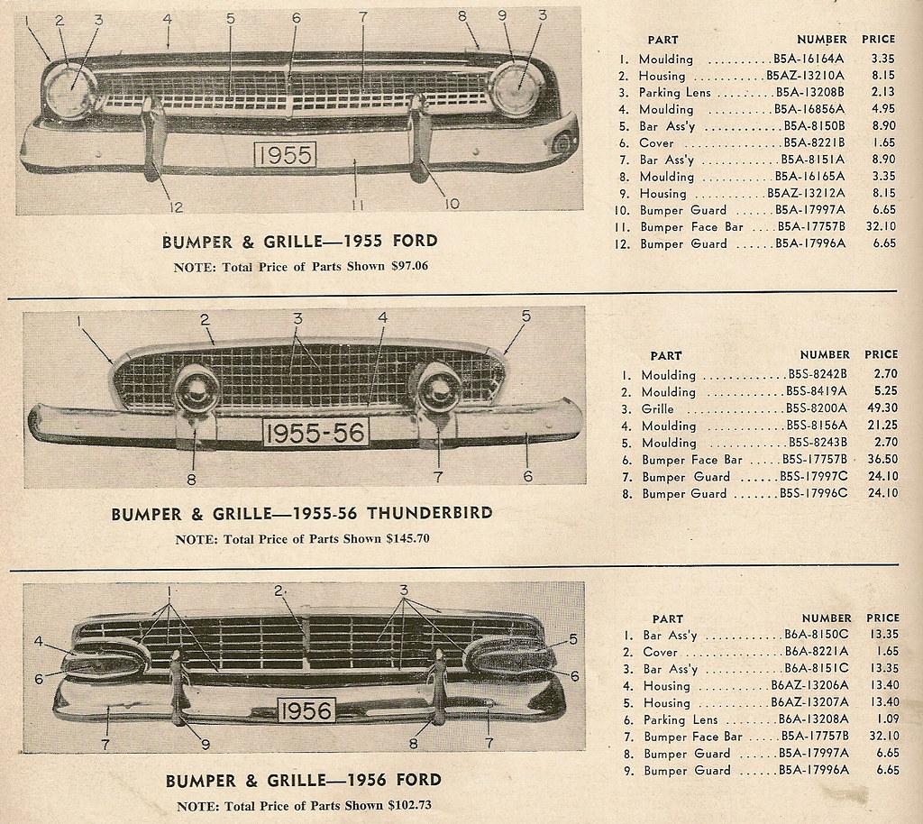 sc 1 st  Flickr & Ford u0026 Fairlane u0026 Thunderbird 1955/1956 (Bumper u0026 Grill Pau2026 | Flickr markmcfarlin.com