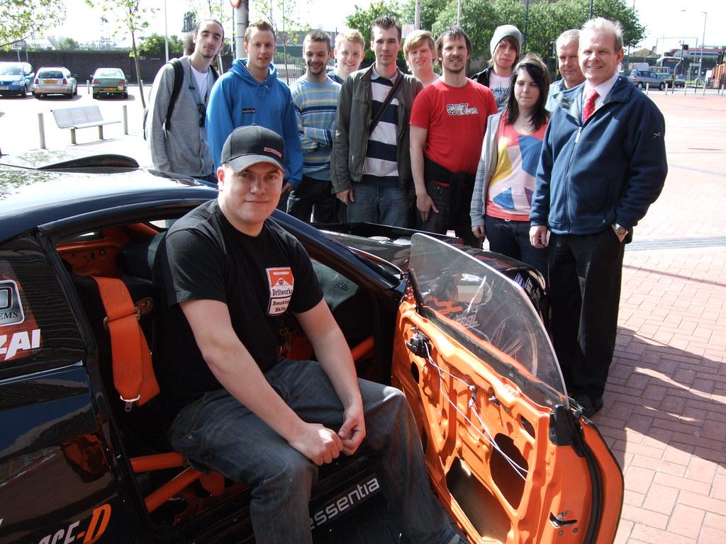 Motor sport pany's collaboration with Birmingham City U