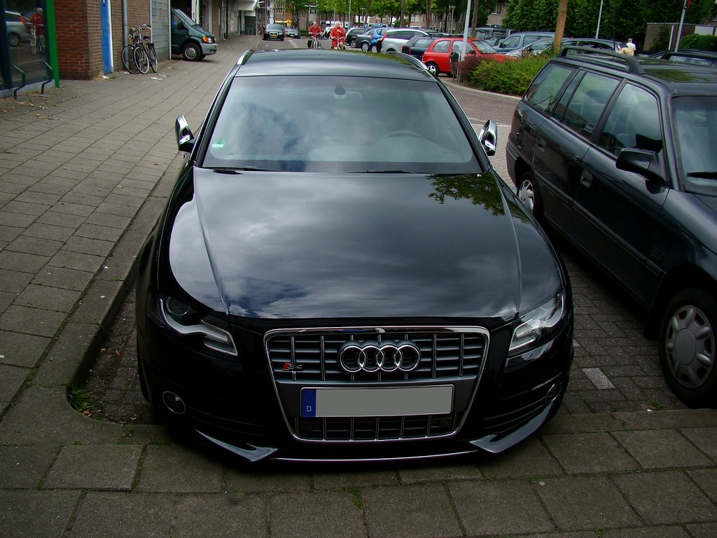 audi s4 avant b8 awesome black on black audi s4 avant b8 i flickr. Black Bedroom Furniture Sets. Home Design Ideas