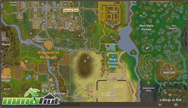 runescape world map | Screenshots courtesy of MMOHut, your ...