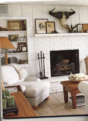 Instyle home rustic white living room brooklyn flickr for Living room west 6 brooklyn