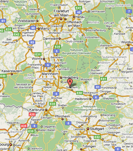 Hoffenheim Karte