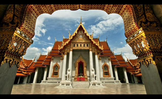 Wat Benchamabophit (The Marble Temple) - Thailand  Located …  Flickr