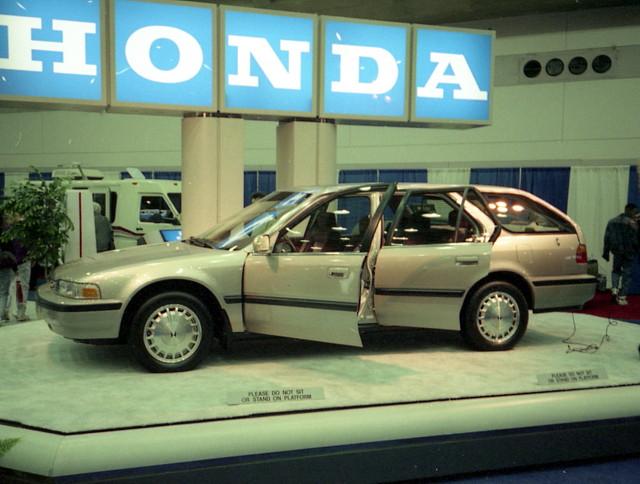 1991 Honda Accord Wagon Motor Trend International Auto Sho Flickr