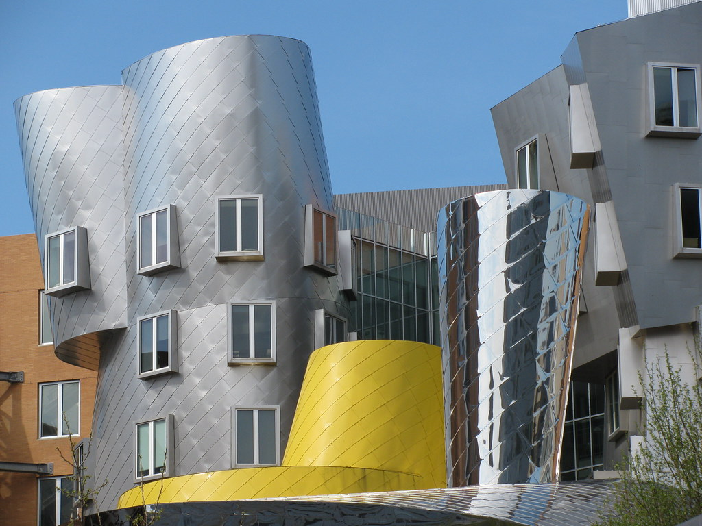 Stata Center By Frank Gehry 2004 Mit Campus Cambridge