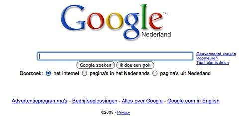 Google.nl | www.google.nl Uploaded with plasq's Skitch ...