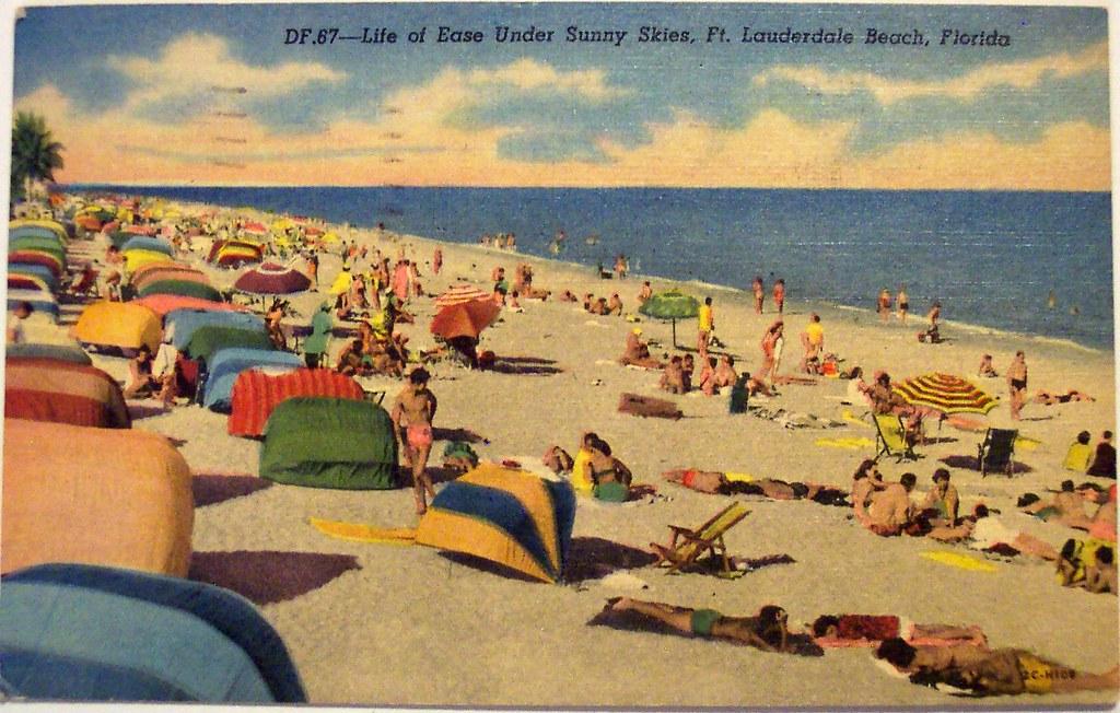 vintage florida beach