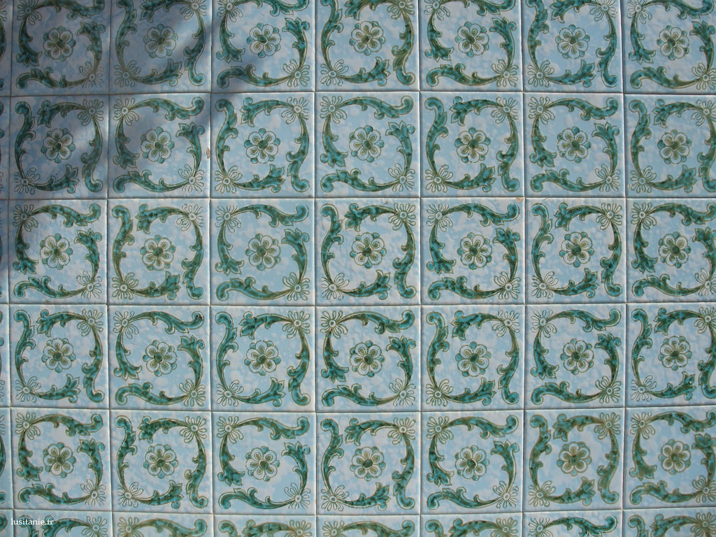 Détail des azulejos