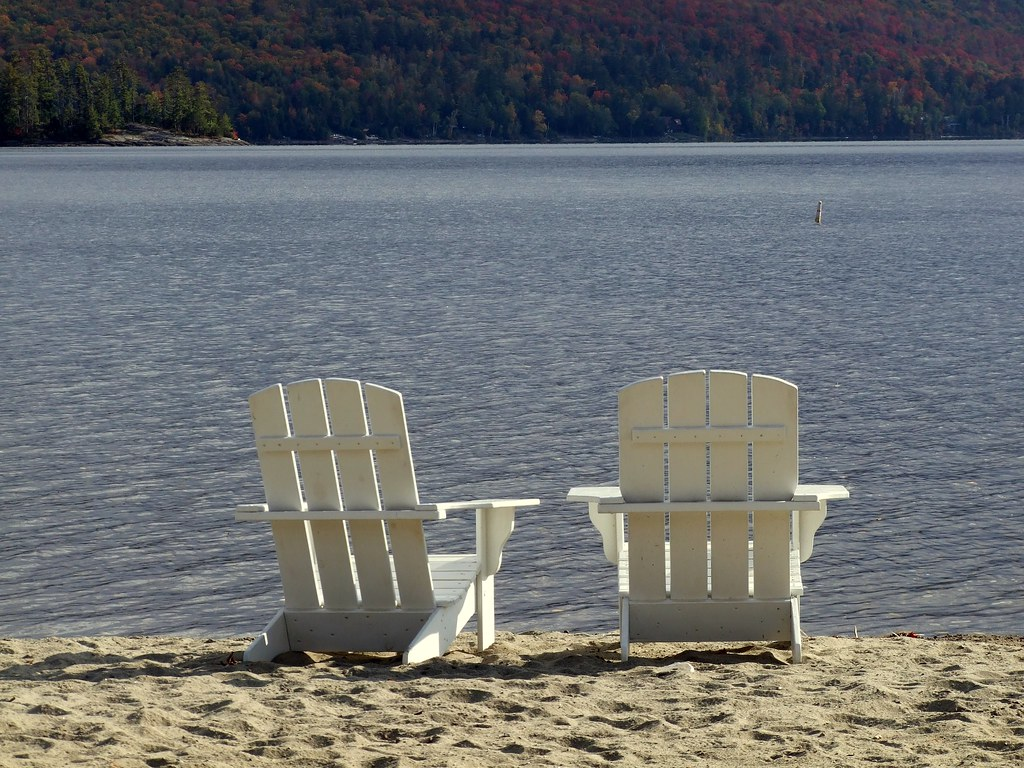 adirondack chairs schroon lake autumn 10 08 gaila3 flickr