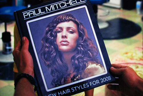 Paul Mitchell Look Book form 2008.