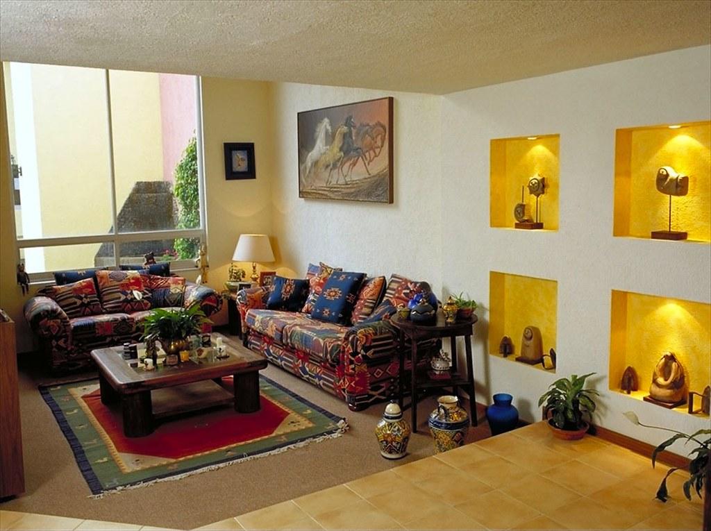 Sala mexicana flickr for Decoracion de interiores medellin