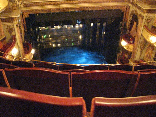 03 novello theatre my view of the stage flickr photo for Balcony novello theatre