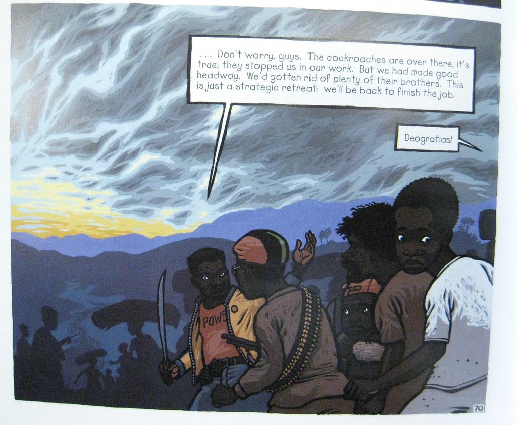 Deogratias and the Representation of the Rwandan Genocide