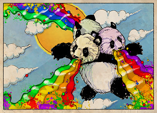 The Rainbow Vomiting Pandas Of Interestingness | by The Searcher