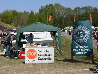 Deutsche Volkspolizei Kontrolle