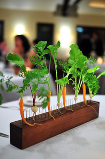 Blue Hill at Stone Barns Carrots and Radishes | by ulterior epicure