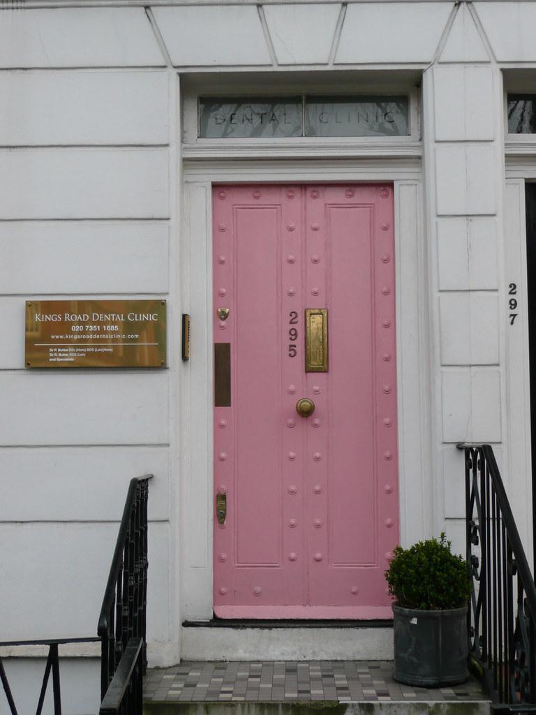 Pink Front Door Patrick Baty Flickr