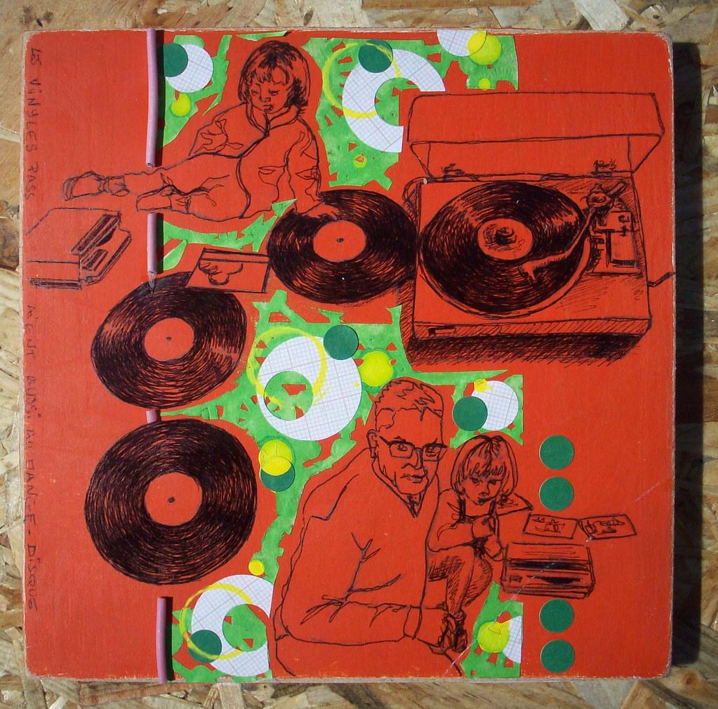 les vinyles passaient aussi au mange disque cette fois le flickr. Black Bedroom Furniture Sets. Home Design Ideas