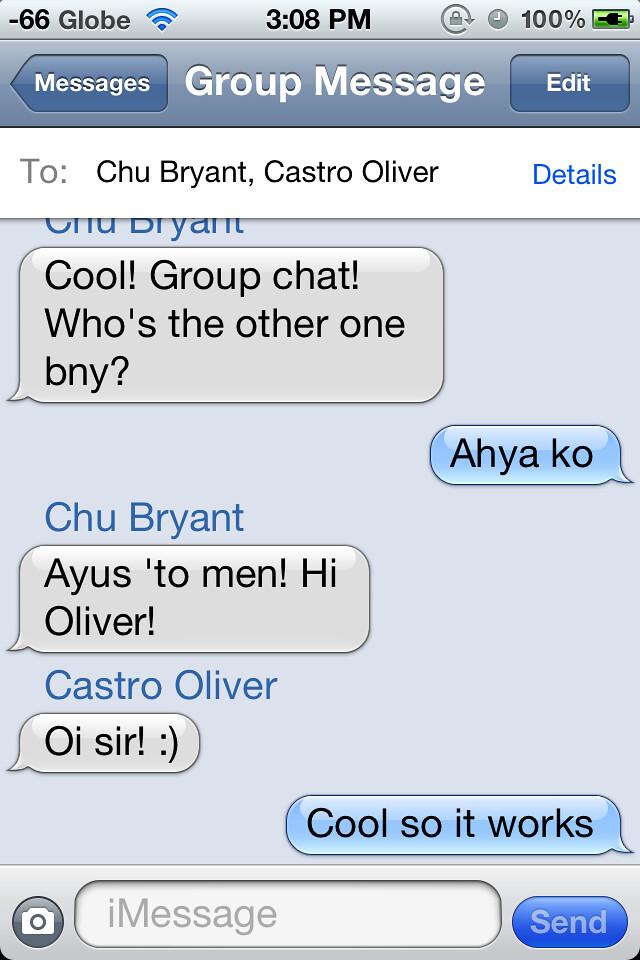 imessage group chat split