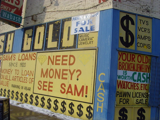 Pawn shop for sale flickr photo sharing for Motor city pawn brokers detroit mi