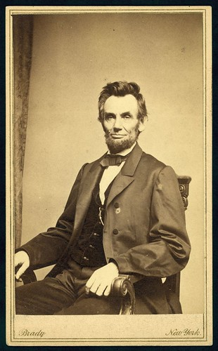 [Abraham Lincoln, U.S. President. Seated portrait, facing front, January 8, 1864] (LOC) | by The Library of Congress