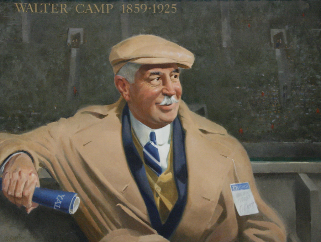 Walter Camp | Walter Chauncey Camp (April 7, 1859 – March ...