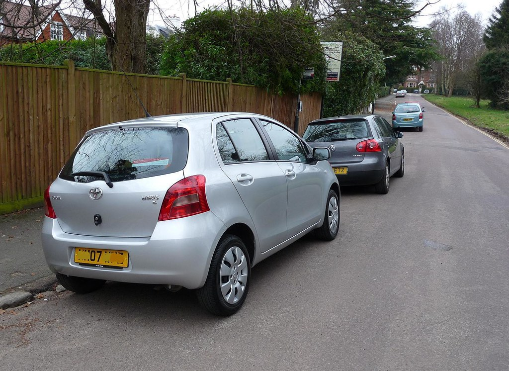 toyota yaris picked it up today just collected the 2007 flickr. Black Bedroom Furniture Sets. Home Design Ideas