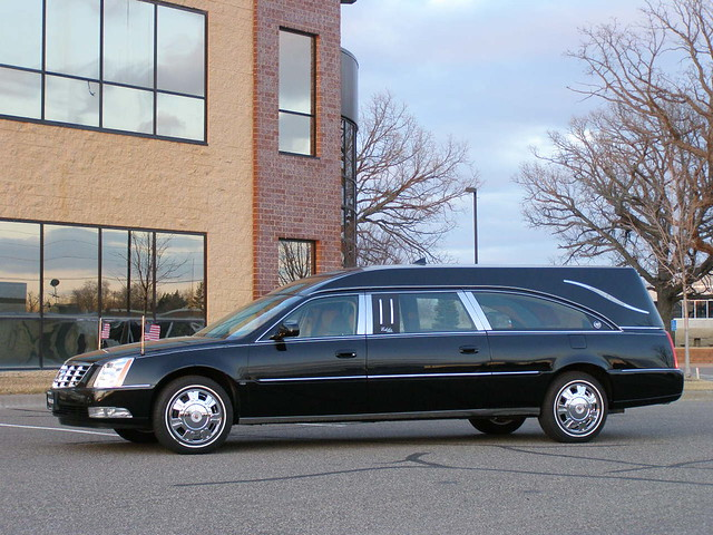 Cadillac Hearse The Echelon Limited Funeral Coach By