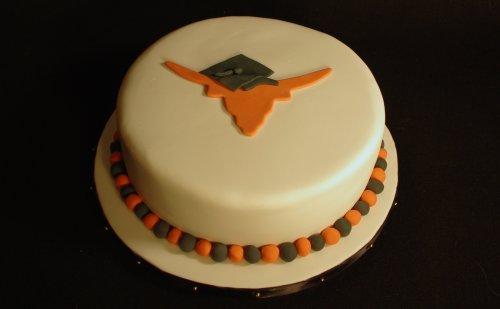 Longhorn Graduation Cakes
