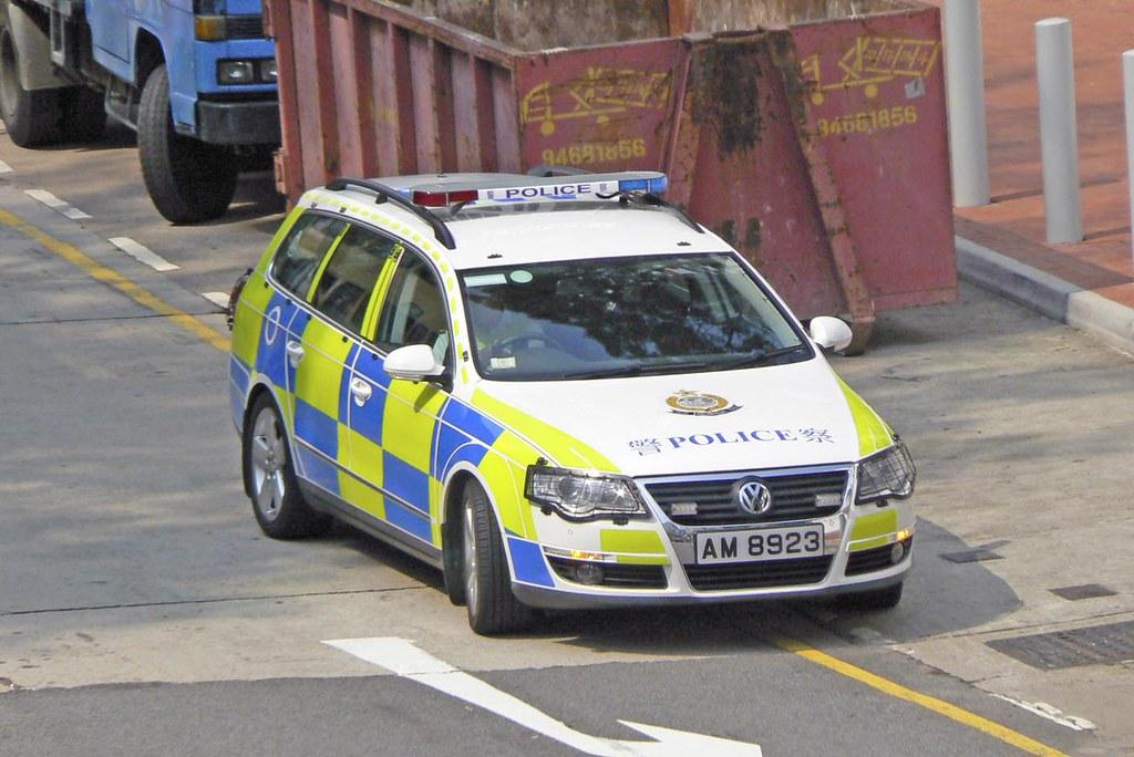 Hong Kong Traffic Police Car 香港交通警察車 Tnts Traffic