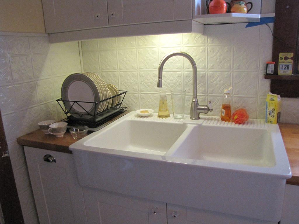 Lights Kitchen Sink
