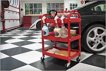 Car Detailing Supplies >> Car Care detailing cart | Griot's Garage | Flickr