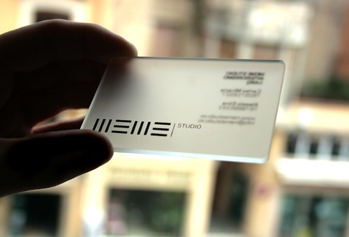 meme business card
