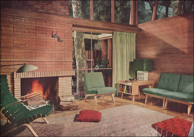 1951 Mid Century Modern Living Room There 39 S A Lot To Love Flickr