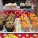 Vegan Ferrero Rocher and Peachy Keen Cupcakes