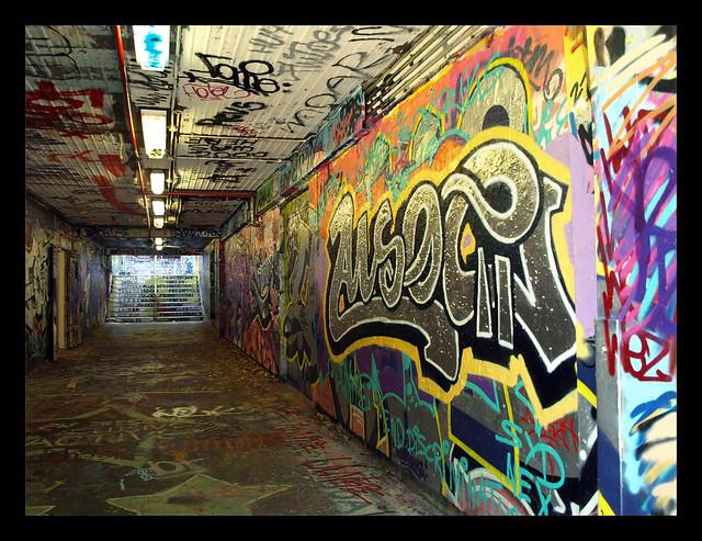 Sydney University Graffiti Tunnel Manning Entrance Flickr
