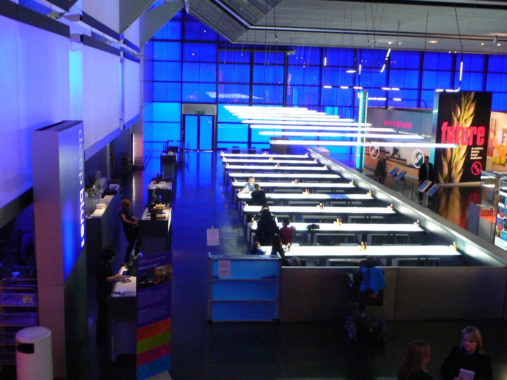 Deep Blue Cafe Science Museum