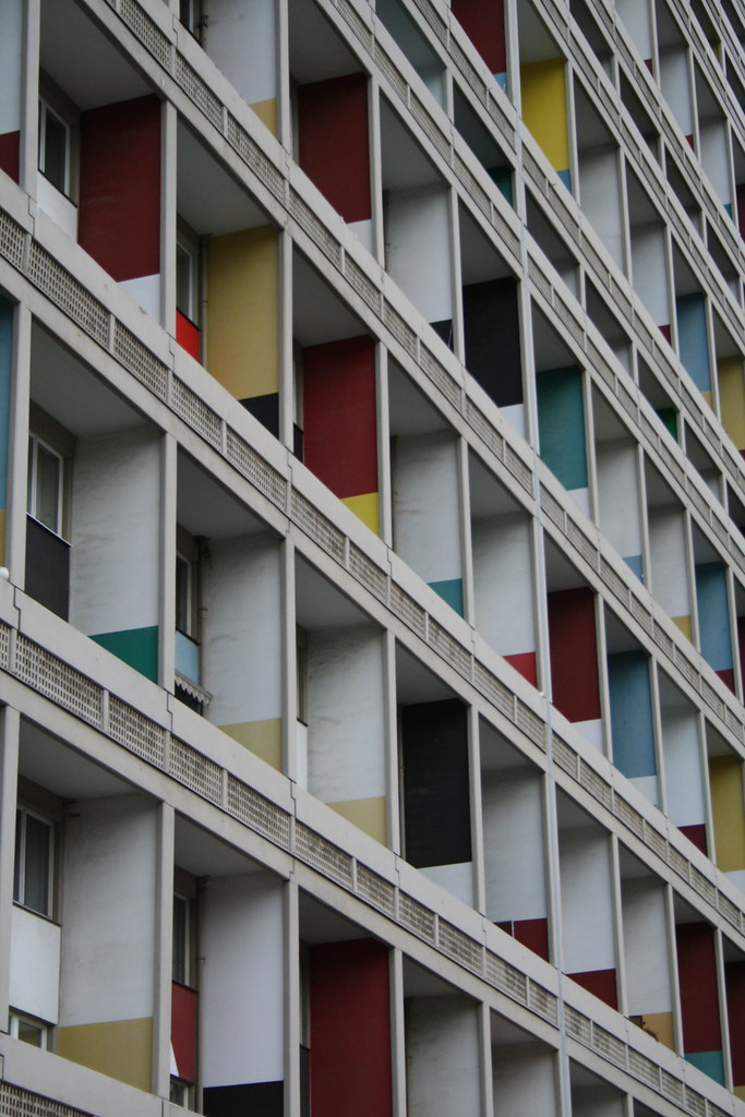 le corbusier unit d 39 habitation of berlin charlottenburg flickr. Black Bedroom Furniture Sets. Home Design Ideas
