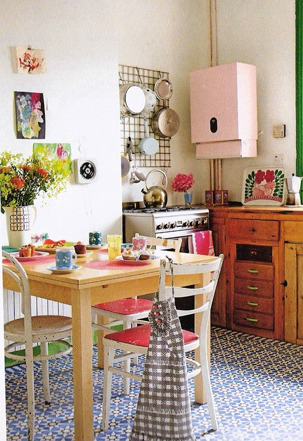 Scanned From Bazaar Style: Decorating With