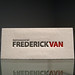 Frederick Van Letterpress Business Cards
