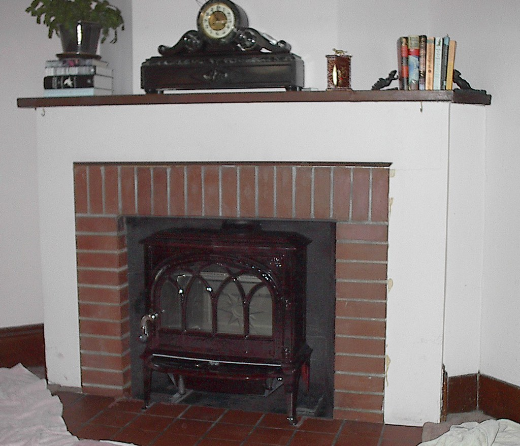 Jotul F400 Castine | Fireplace Installation | Sutter Home