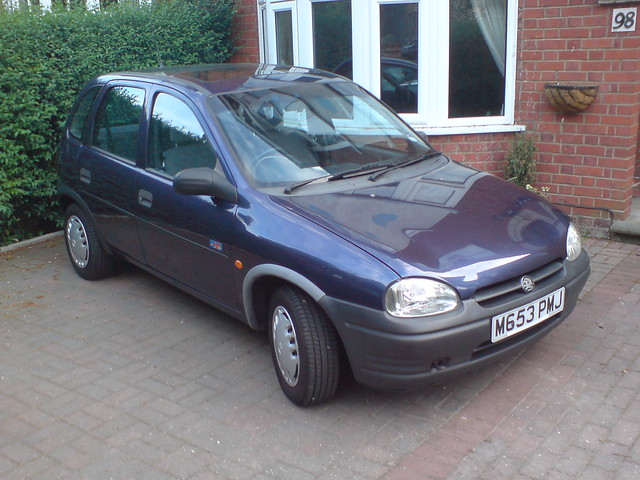 hannah 39 s old 1995 vauxhall corsa 1 2 arizona flickr photo sharing. Black Bedroom Furniture Sets. Home Design Ideas