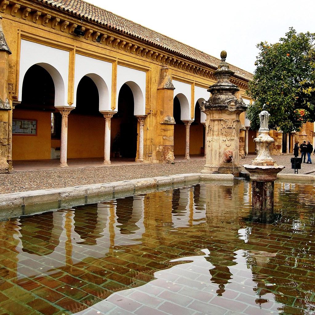 03 c rdoba mezquita patio de los naranjos fuente 15540 - Mezquita de cordoba de noche ...