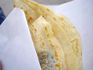 Nutella and Banana Crepe from Liberte Crepes | by swampkitty