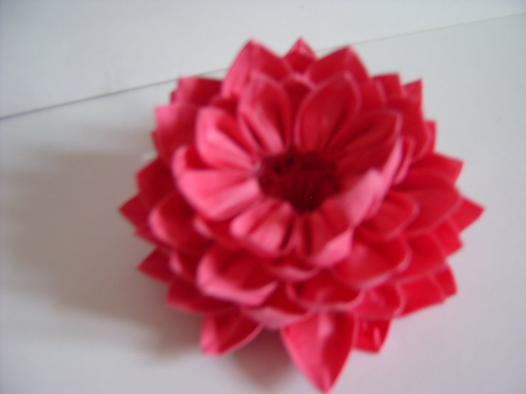 3d origami lotus flower samsung digimax 360 jewellia for How to make a lotus with paper
